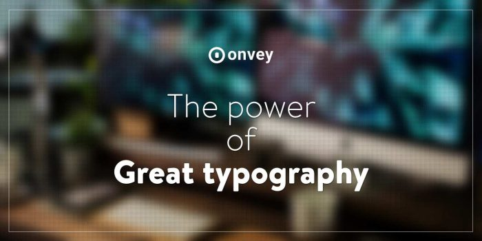 product design power of great typography