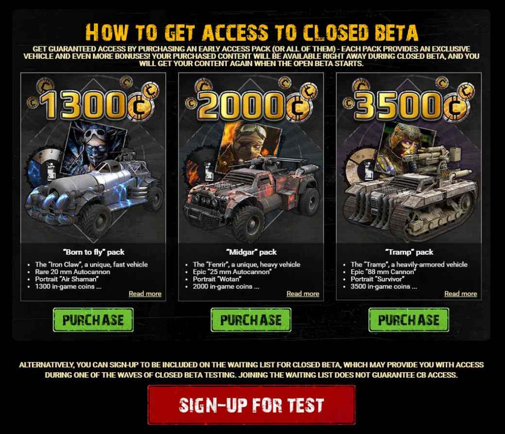 crossout pay for beta