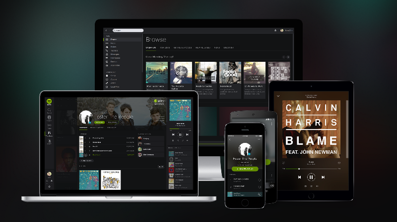 spotify apps unified experience