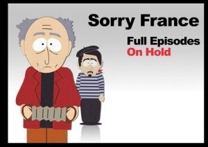 sorry france south park